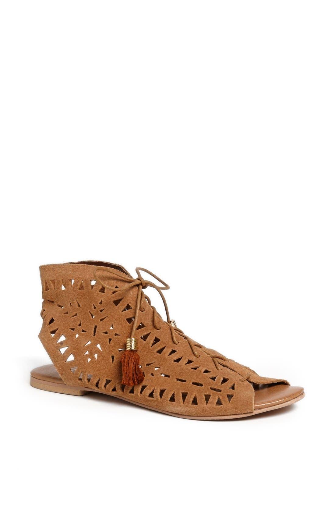 'Ascot Friday - Boheme' Sandal,                         Main,                         color, Tan