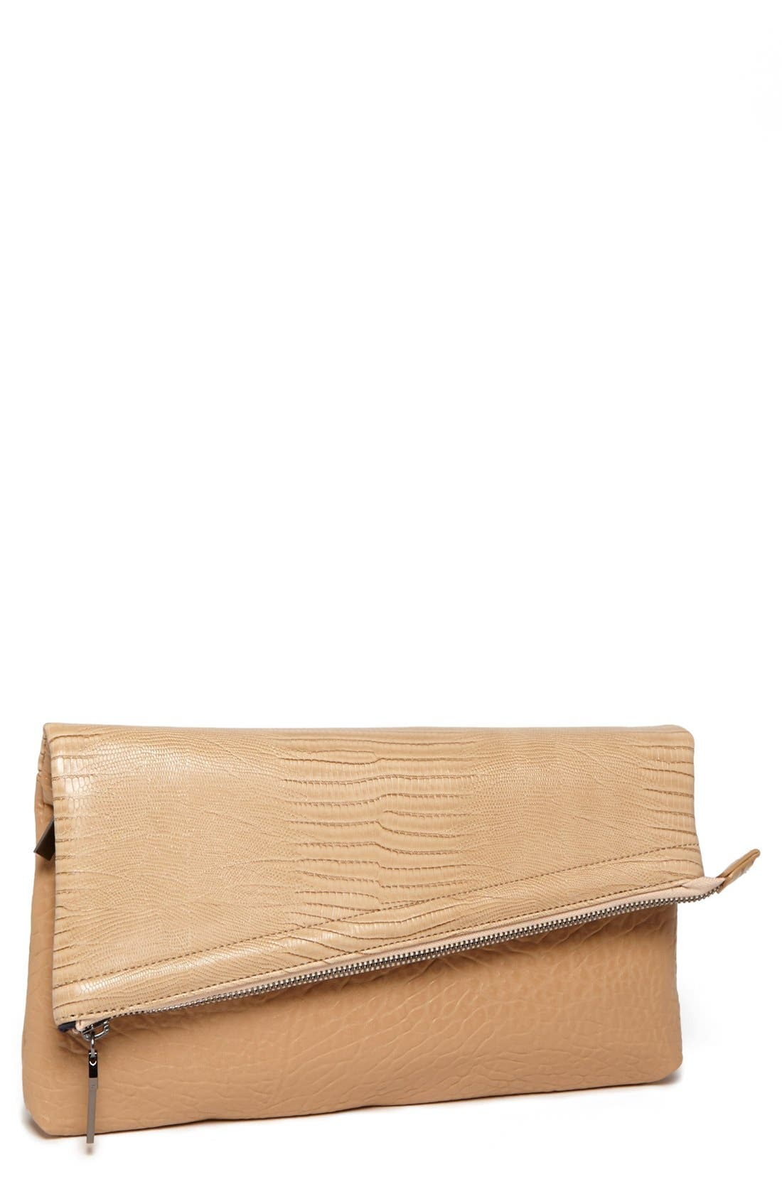 Alternate Image 1 Selected - French Connection 'Zip Code' Clutch