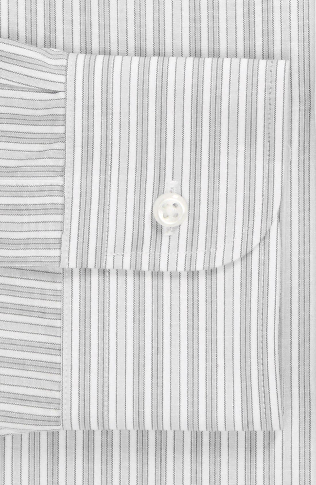 Nordstrom Classic Fit Non-Iron Dress Shirt,                             Alternate thumbnail 2, color,                             Grey- Horizon