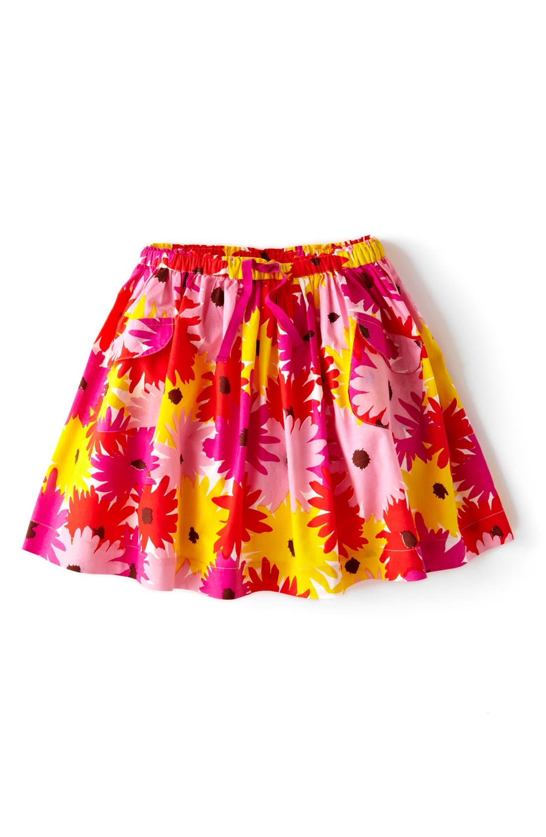 Alternate Image 1 Selected - Mini Boden 'Fun' Print Circle Skirt (Toddler Girls, Little Girls & Big Girls)