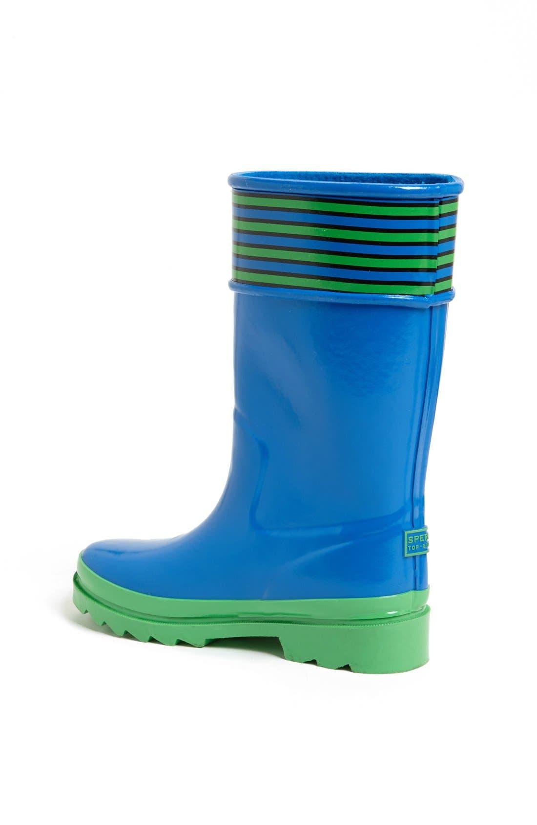 Alternate Image 2  - Sperry Kids 'Pelican' Rain Boot (Walker, Toddler, Little Kid & Big Kid)