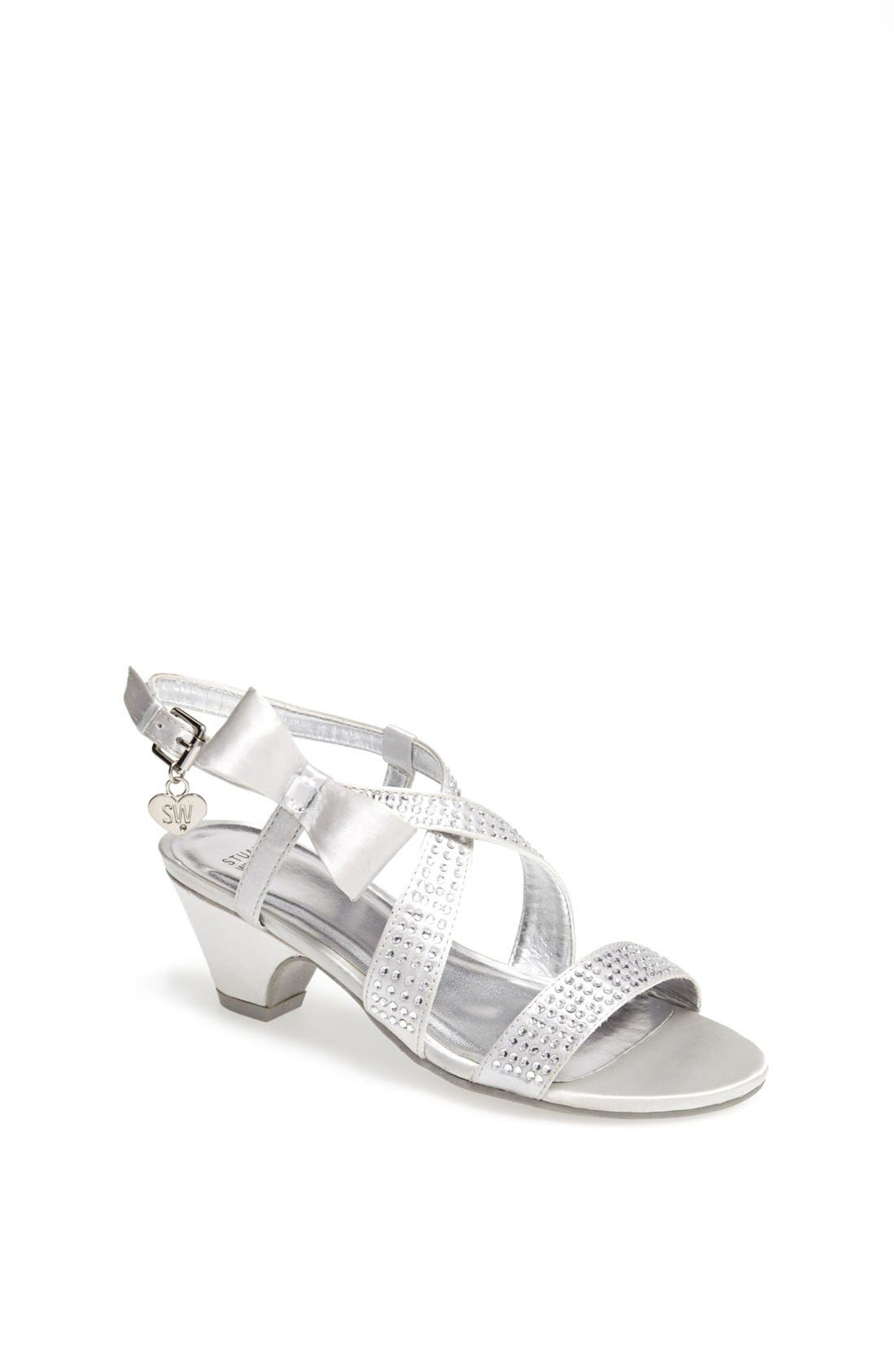 Alternate Image 1 Selected - Stuart Weitzman 'Verna Janie' Sandal (Little Kid & Big Kid)