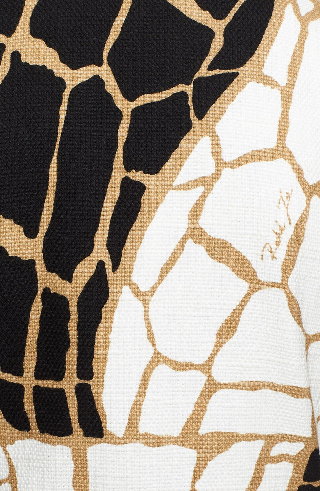 Alternate Image 3  - Rachel Zoe 'Mena' Giraffe Print Coat