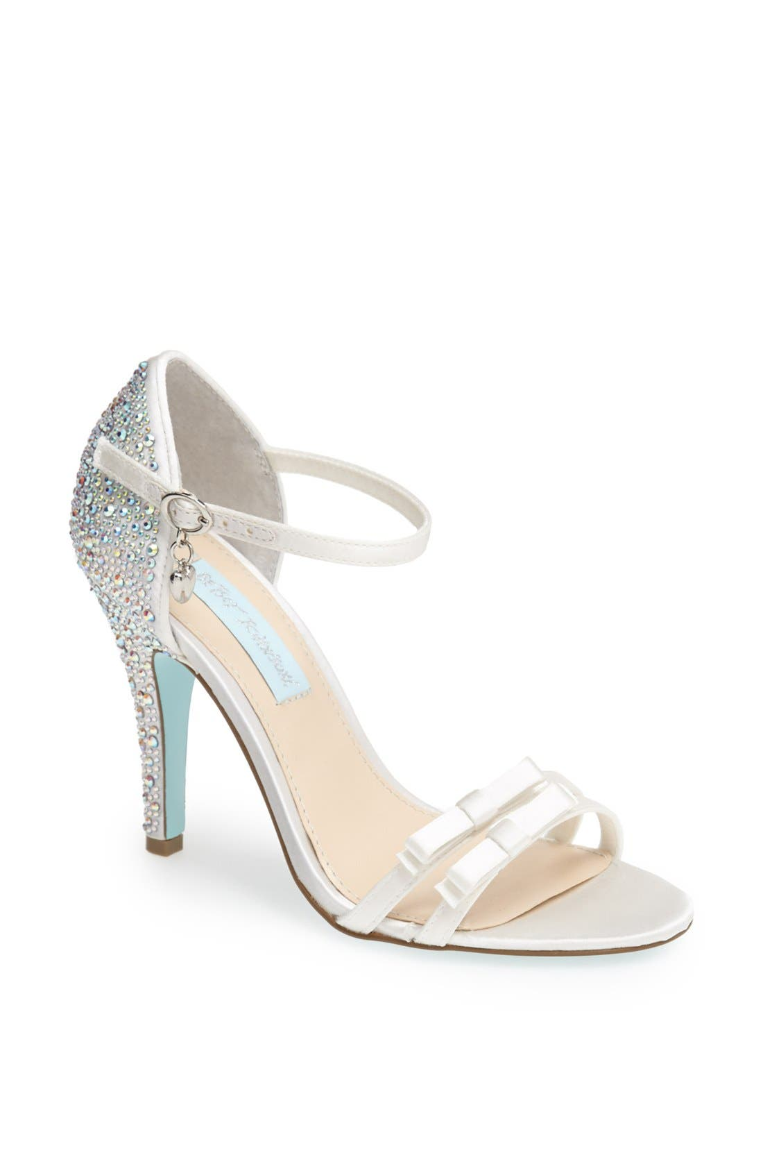Main Image - Blue by Betsey Johnson 'Bow' Sandal