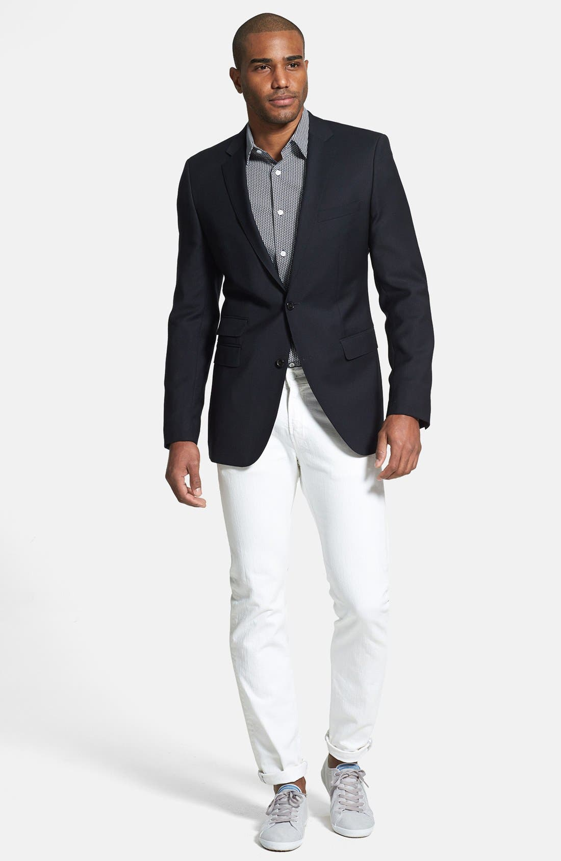 Alternate Image 4  - BOSS HUGO BOSS 'The Sweet' Trim Fit Blazer