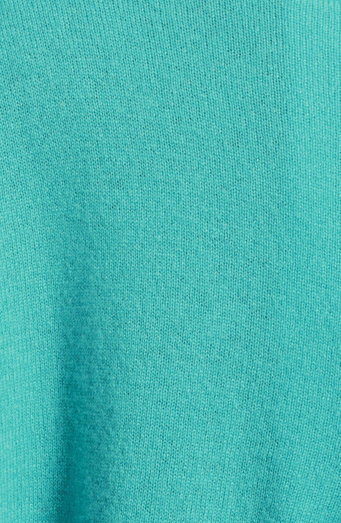 Alternate Image 3  - autumn cashmere Pleat Back Zip Cashmere Sweater