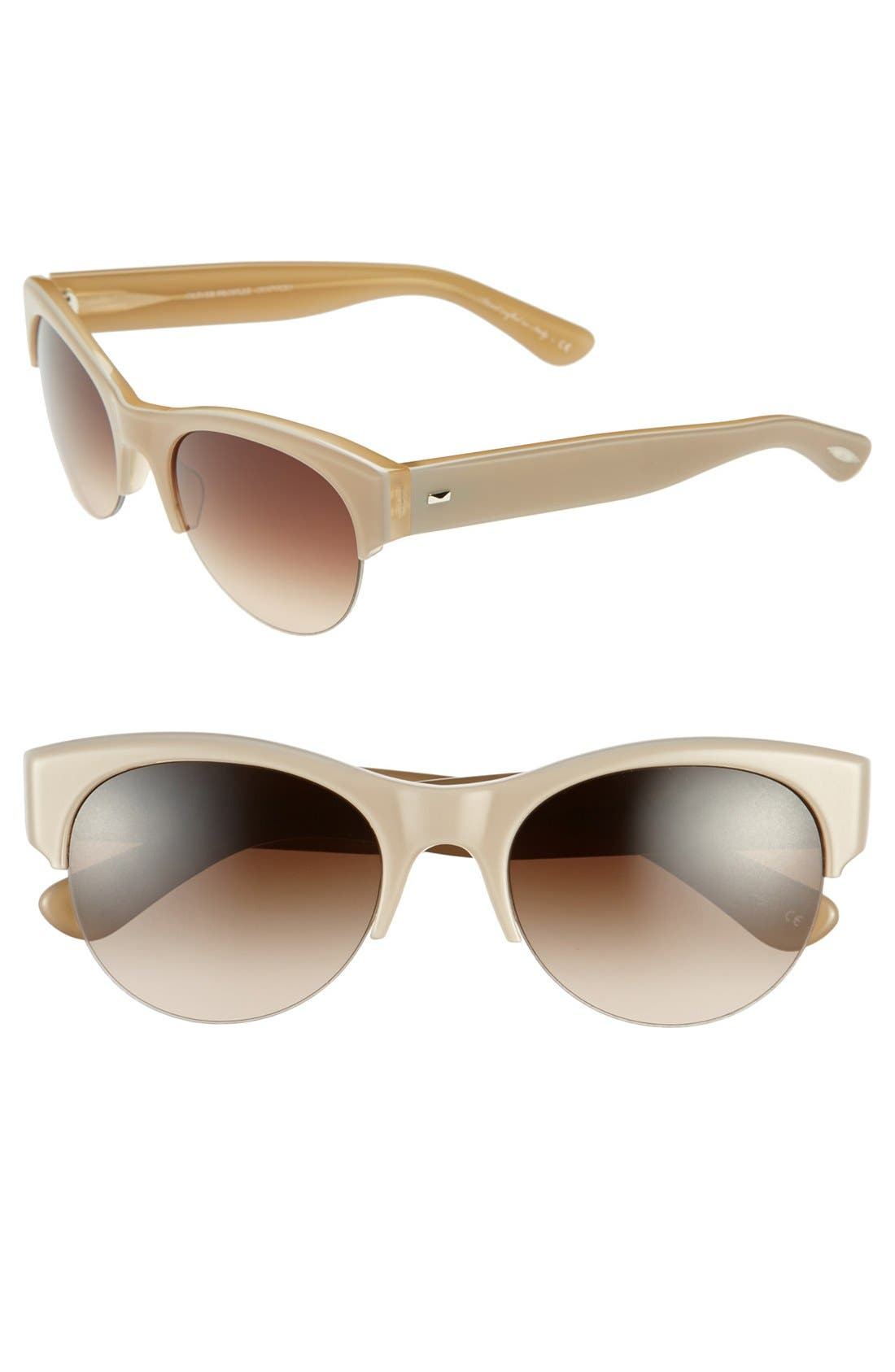 Alternate Image 1 Selected - Oliver Peoples 'Louella' 55mm Sunglasses