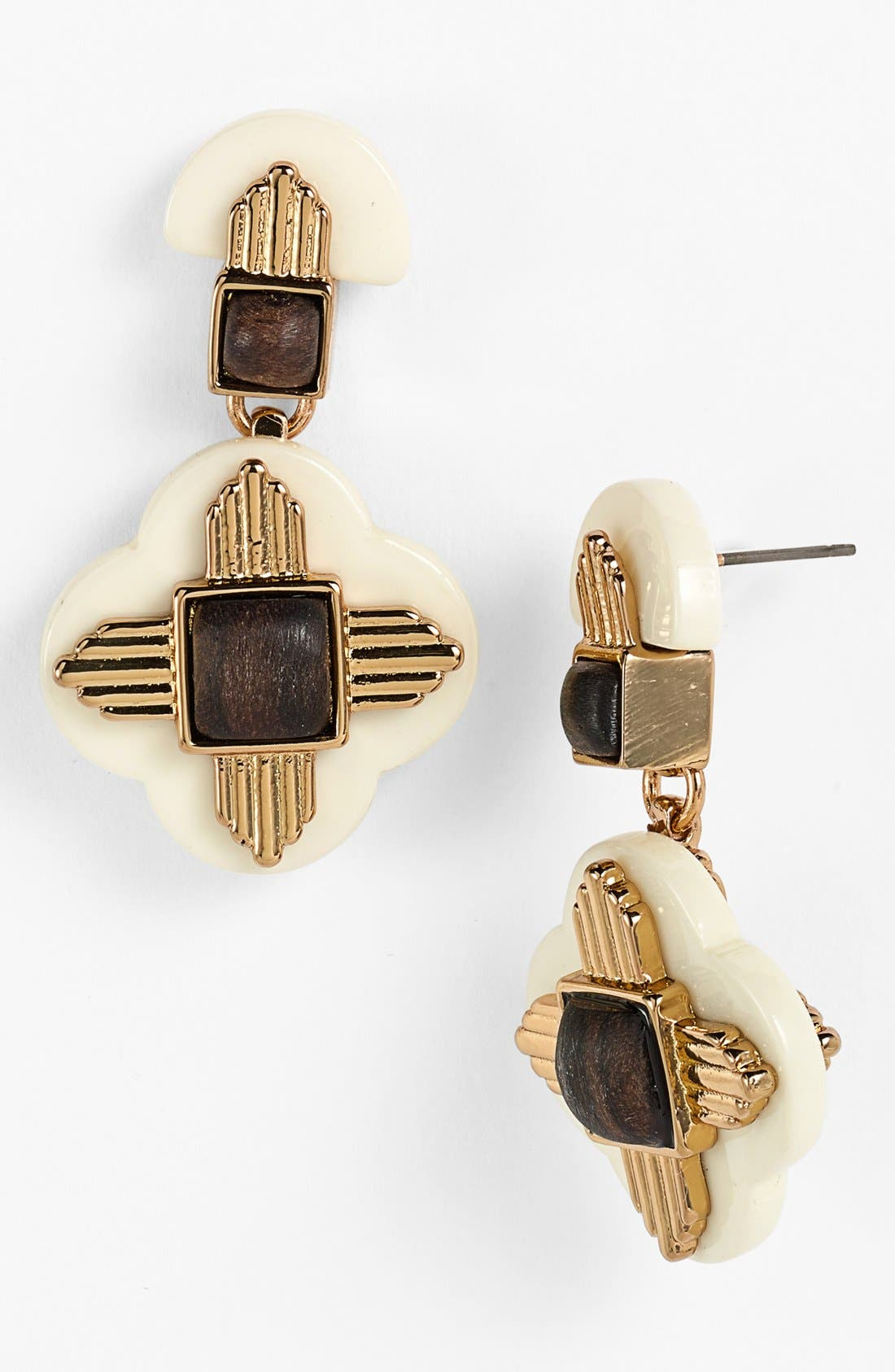 Main Image - Tory Burch 'Kira' Drop Earrings