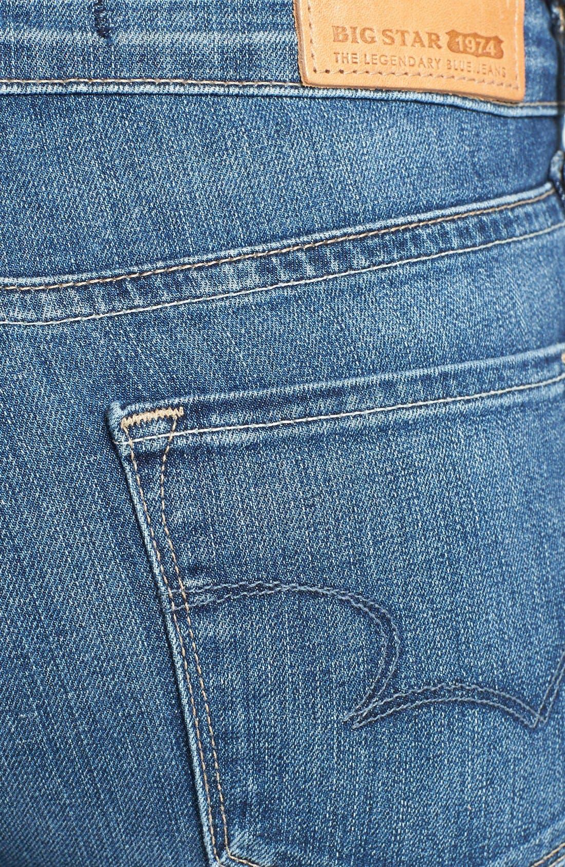 Alternate Image 3  - Big Star 'Alex' Stretch Skinny Jeans (Holly Medium)