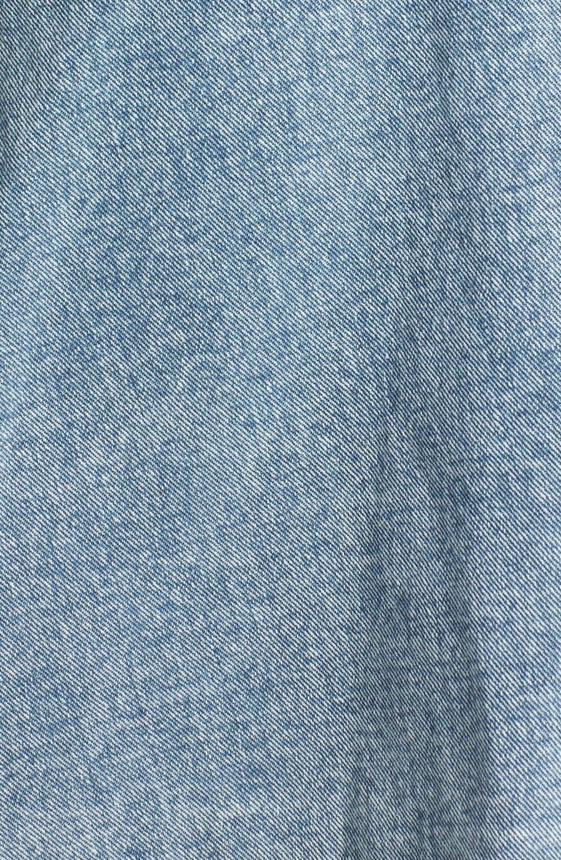 Alternate Image 3  - MINKPINK 'Funday Sunday' Denim Pinafore Dress