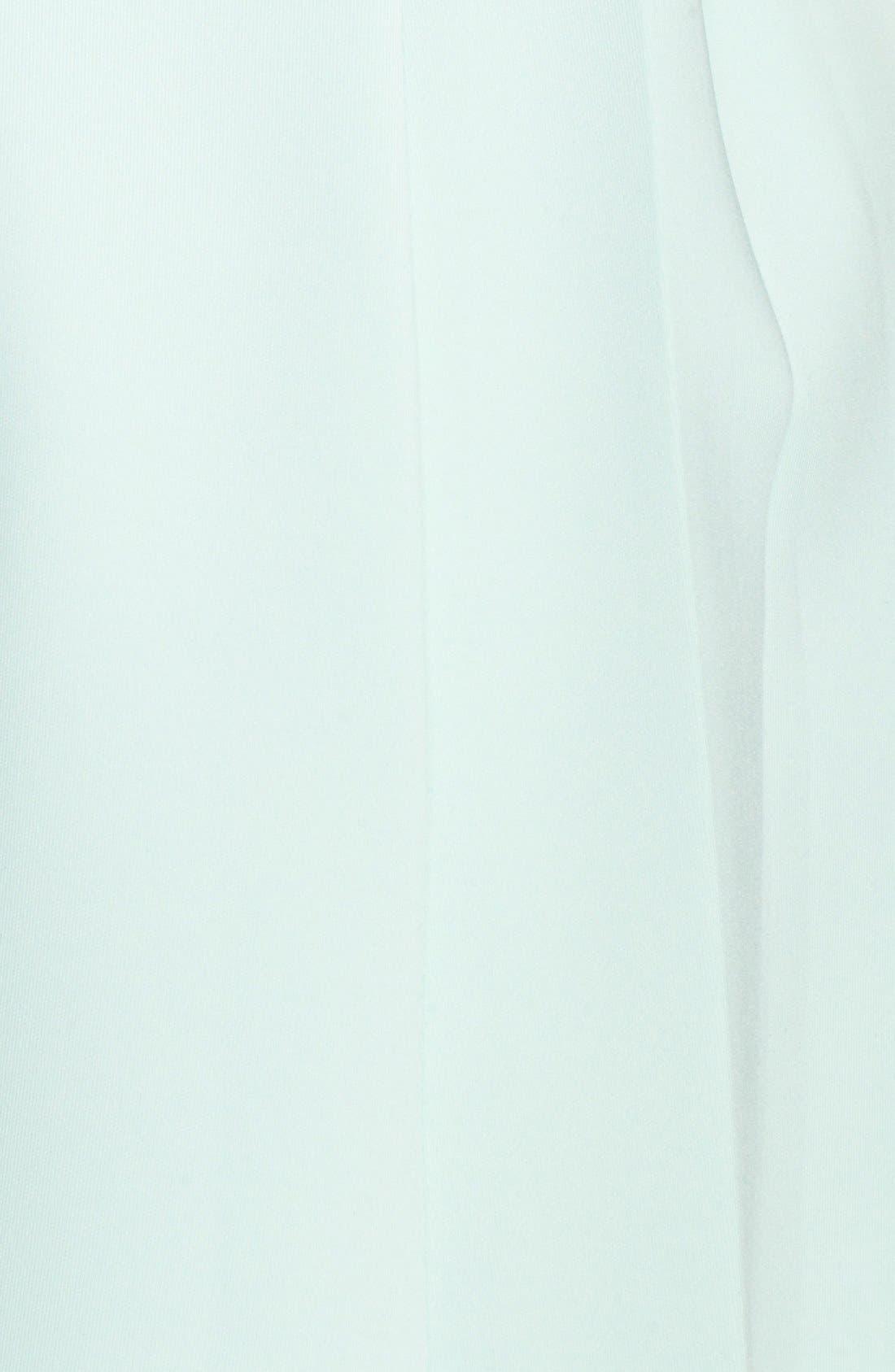 Alternate Image 3  - Ted Baker London 'Nistee' Side Pleat Jersey Skater Dress