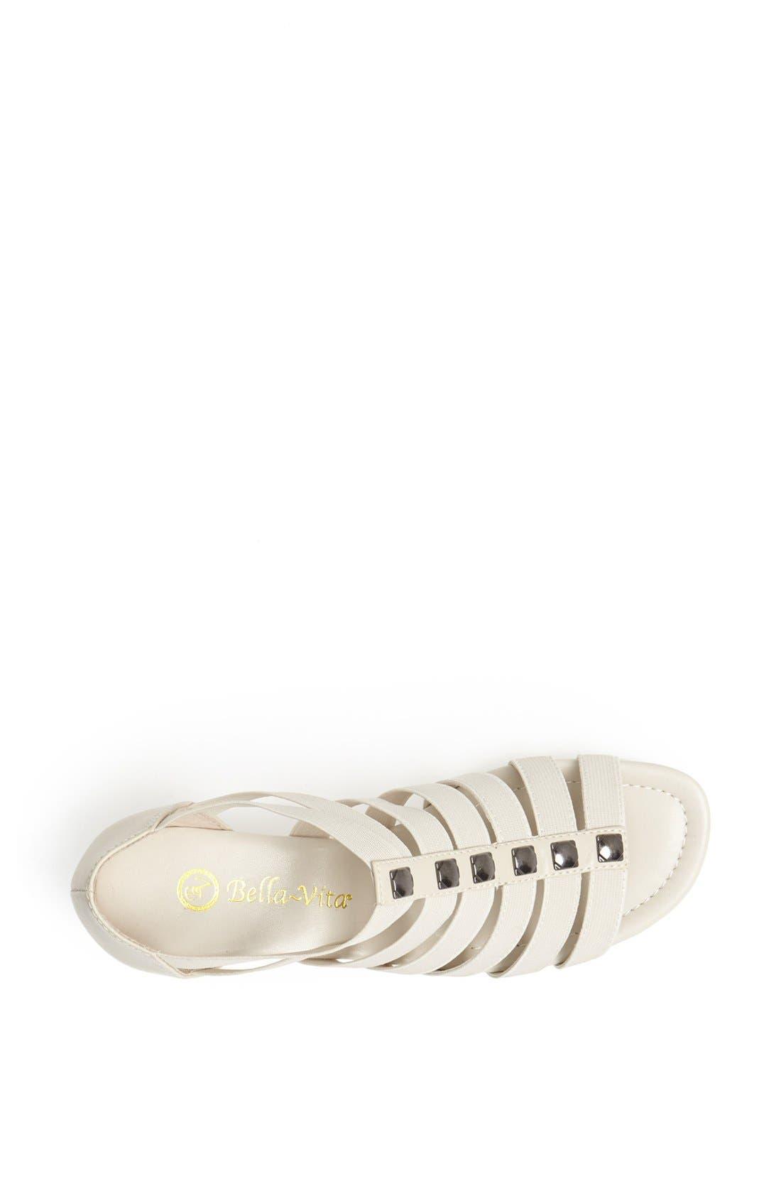'Paula II' Sandal,                             Alternate thumbnail 3, color,                             Bone