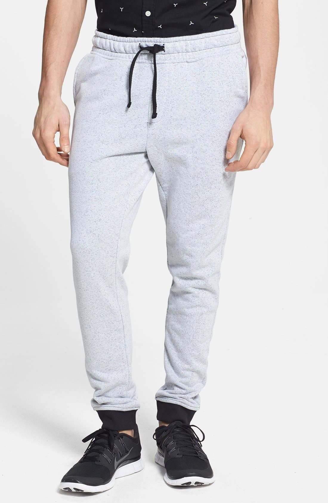 Main Image - Topman Skinny Fit Jogger Sweatpants