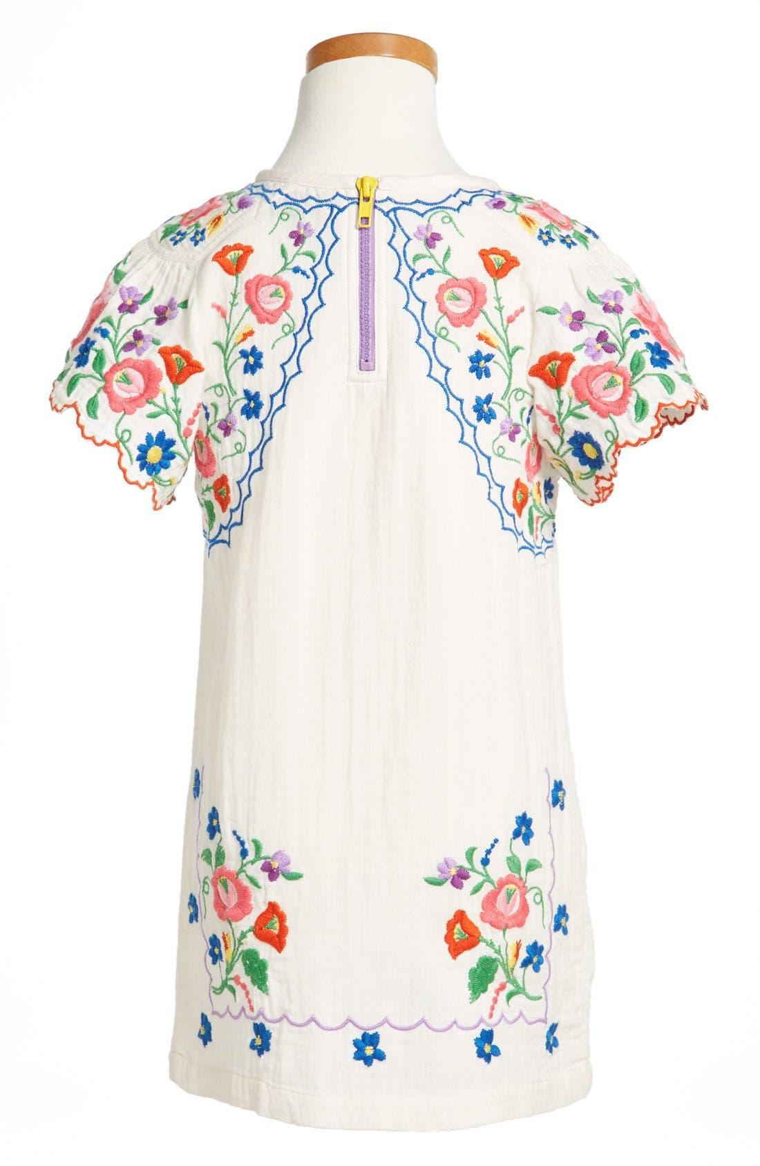 Alternate Image 2  - Stella McCartney Kids Flower Dress (Toddler Girls & Little Girls)