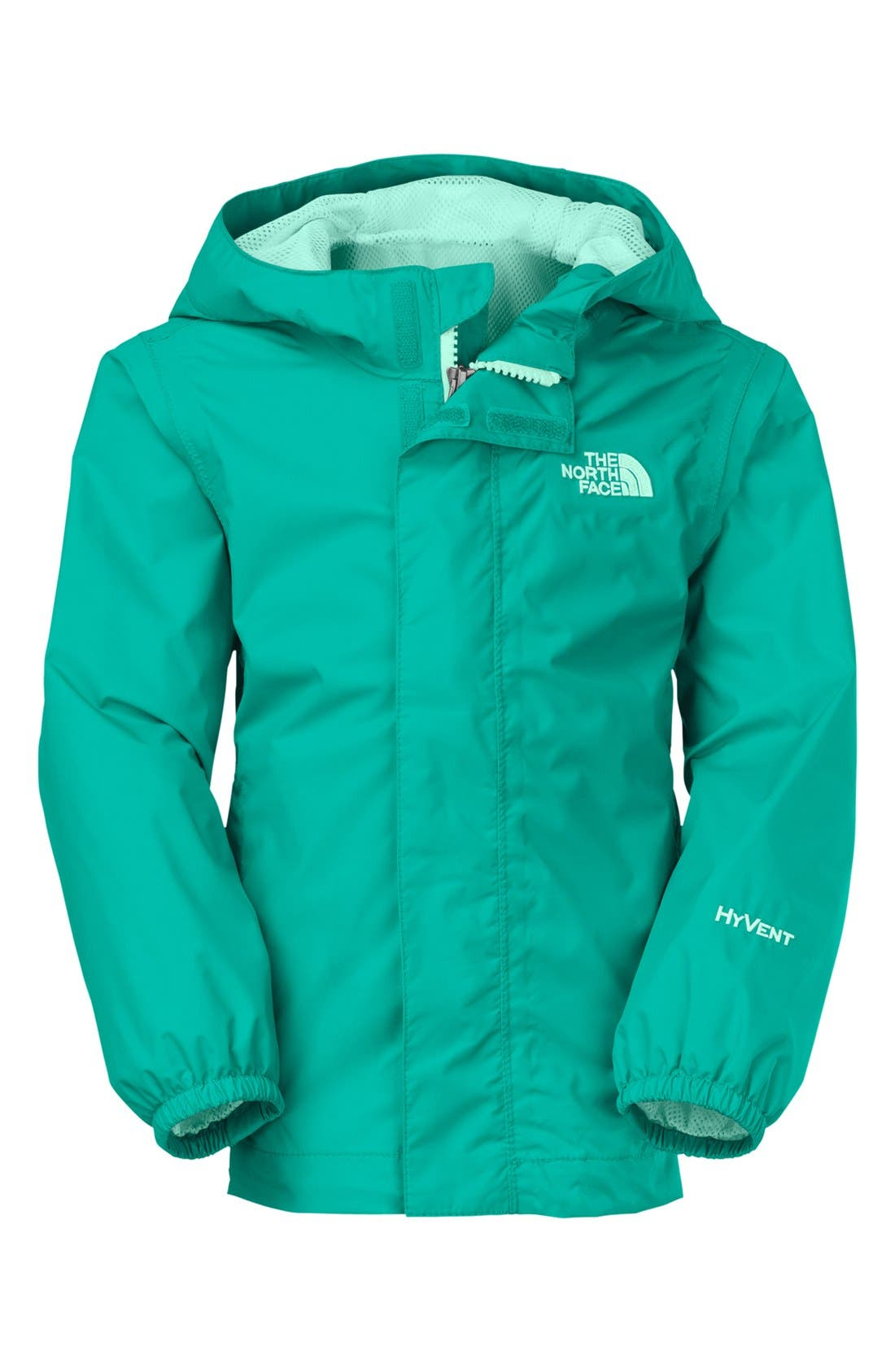 Alternate Image 1 Selected - The North Face 'Tailout' Rain Jacket (Toddler Girls)