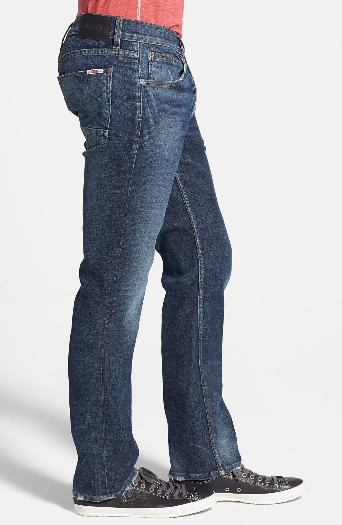 Alternate Image 3  - Hudson Jeans 'Byron' Straight Leg Jeans (Thieves)