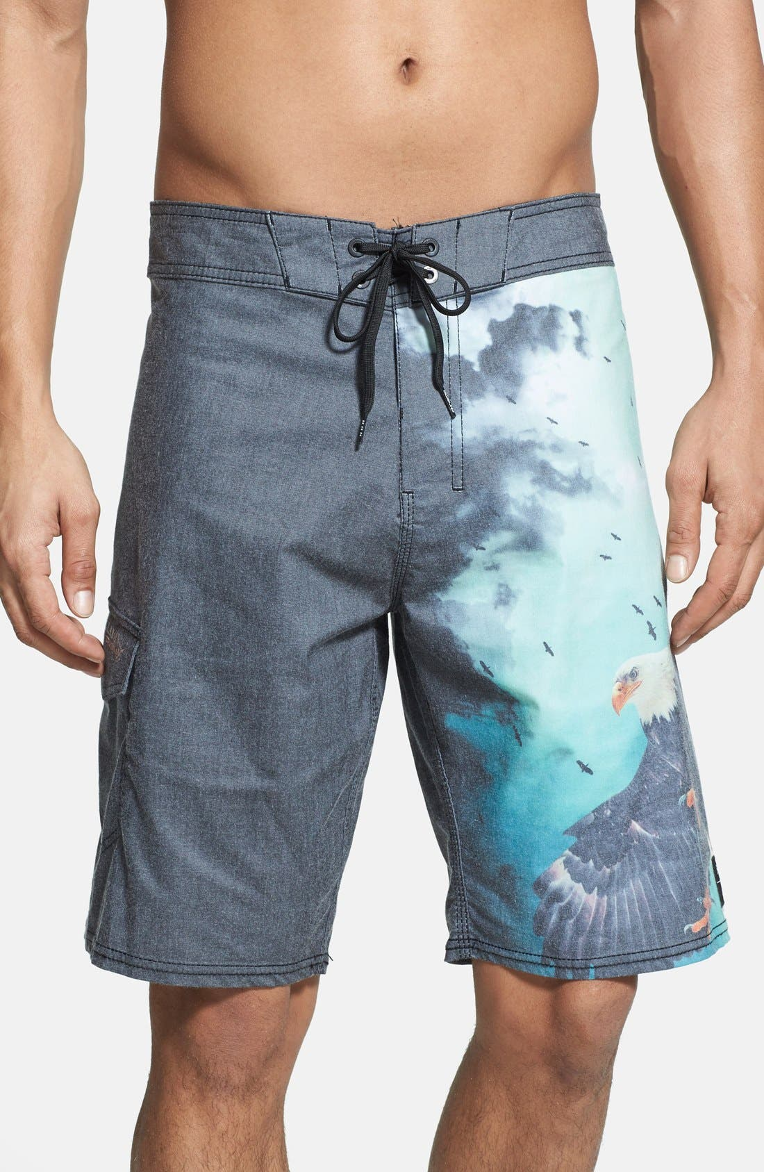 Main Image - Billabong 'Wild - White Mike Series' Board Shorts