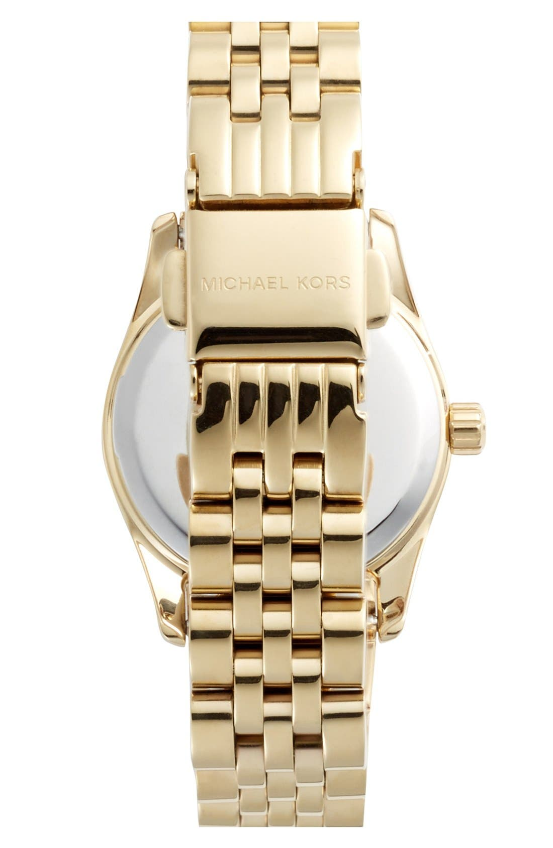 Alternate Image 2  - Michael Kors 'Petite Lexington' Bracelet Watch, 26mm