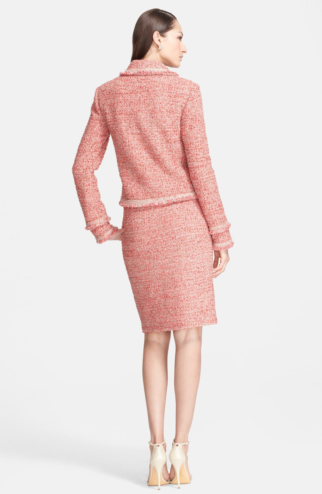 Alternate Image 3  - St. John Collection Eyelash Sparkle Knit Pencil Skirt