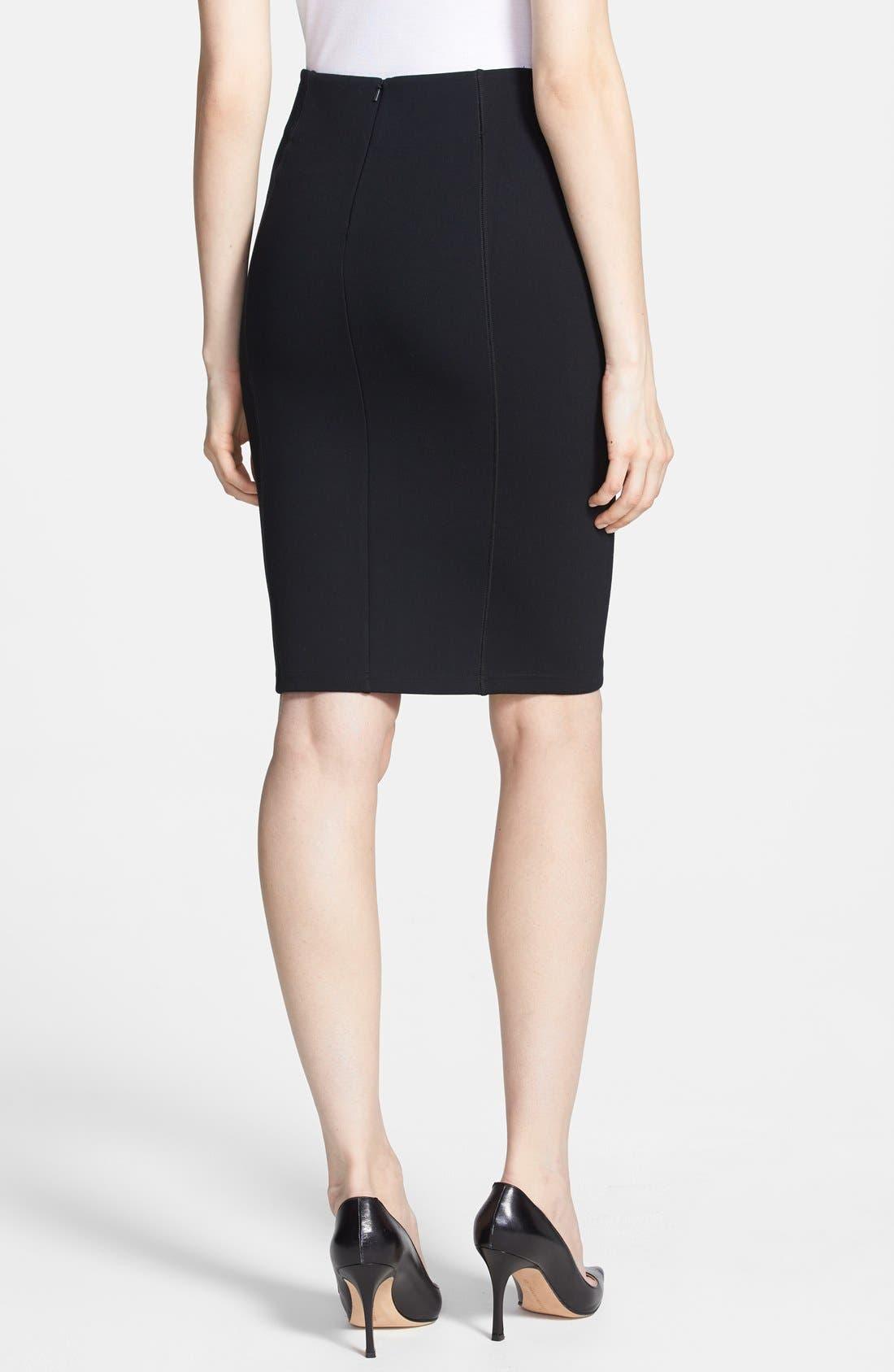 Alternate Image 2  - Trouvé Seam Detail Pencil Skirt