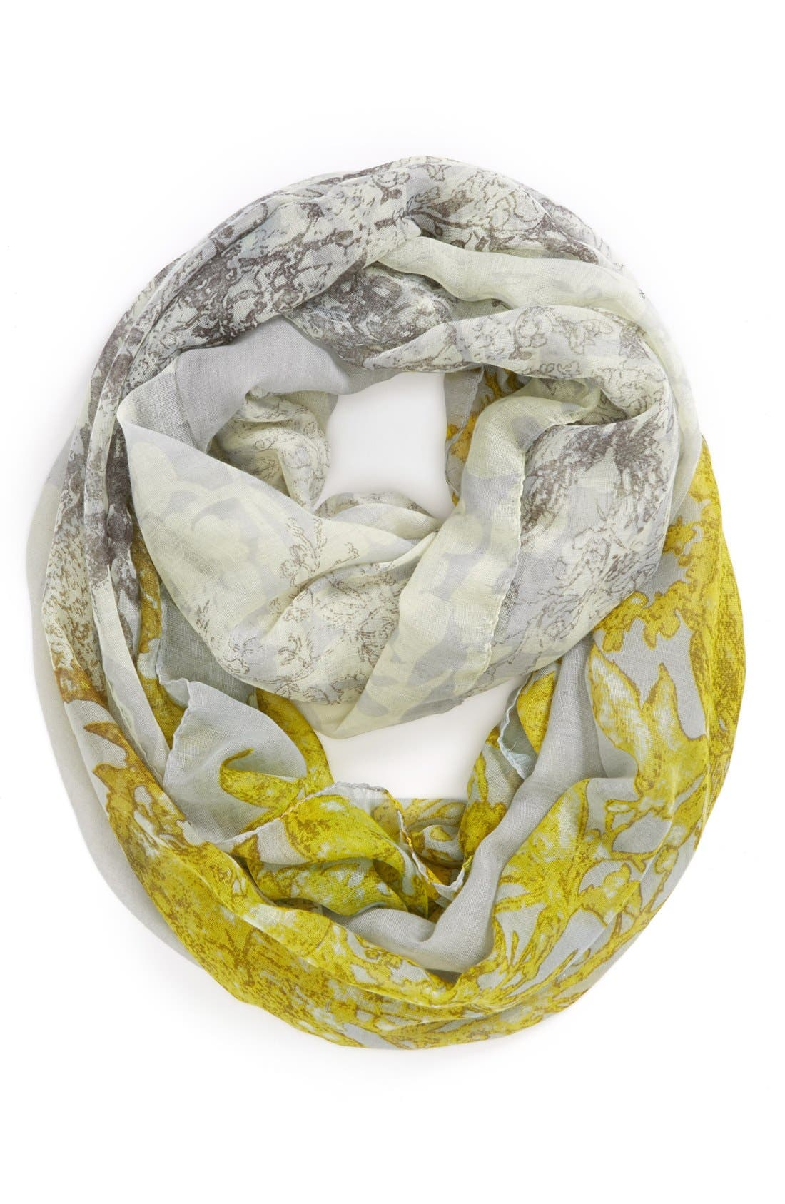 Main Image - Tildon Floral Infinity Scarf