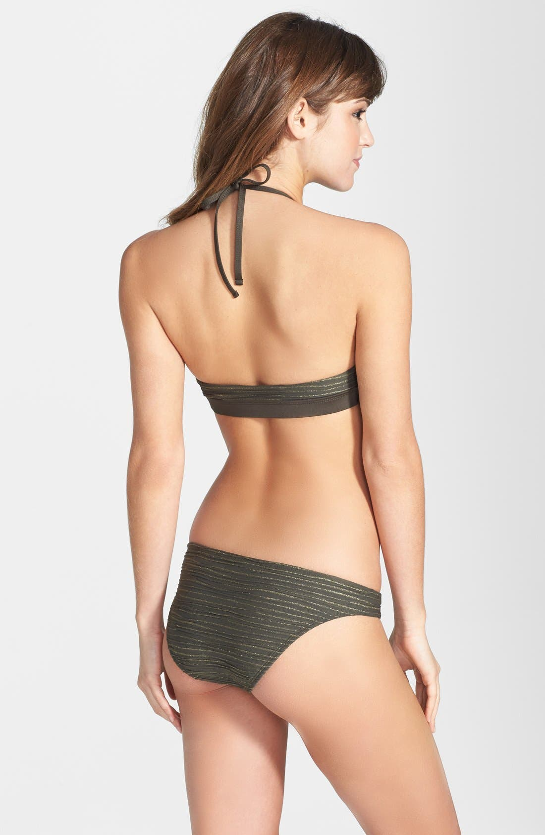 Alternate Image 4  - Vitamin A® 'Neutra' Hipster Full Coverage Bikini Bottoms