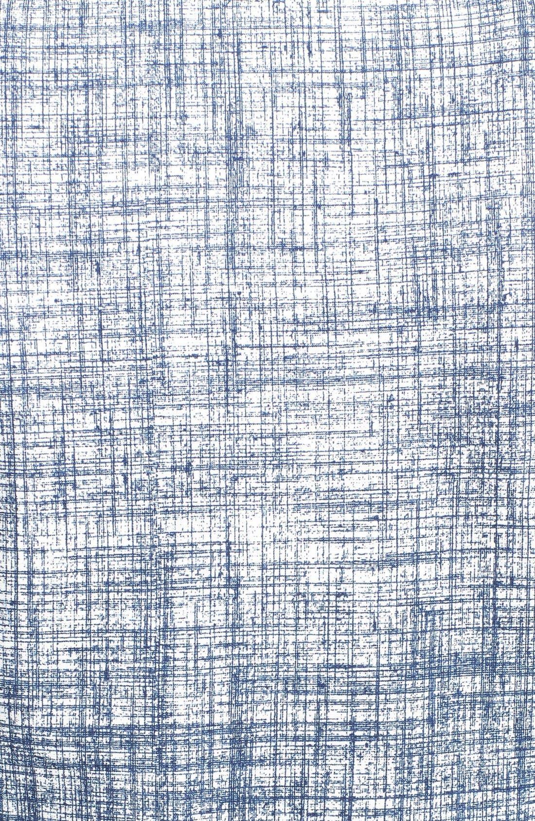 Alternate Image 3  - Tory Burch 'Kinsley' Print Ponte Sheath Dress