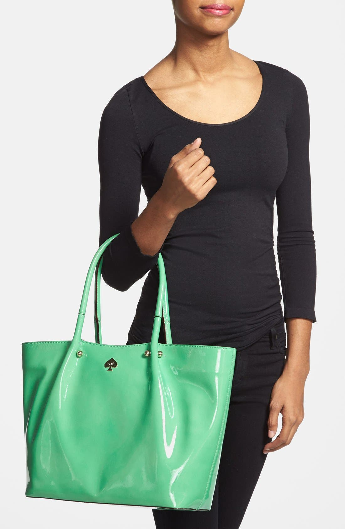 Alternate Image 2  - kate spade new york 'first prize - tolen' leather tote