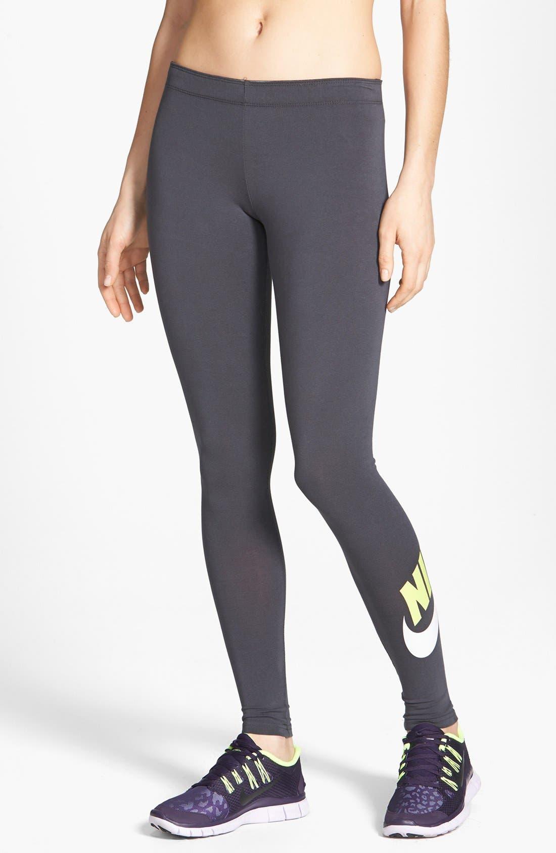 Alternate Image 1 Selected - Nike 'Leg-A-See Signal' Leggings