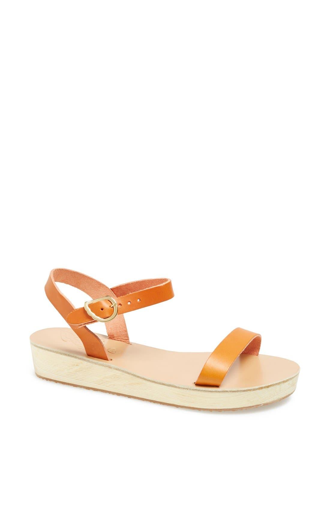 Alternate Image 1 Selected - Ancient Greek Sandals 'Drama' Platform Sandal