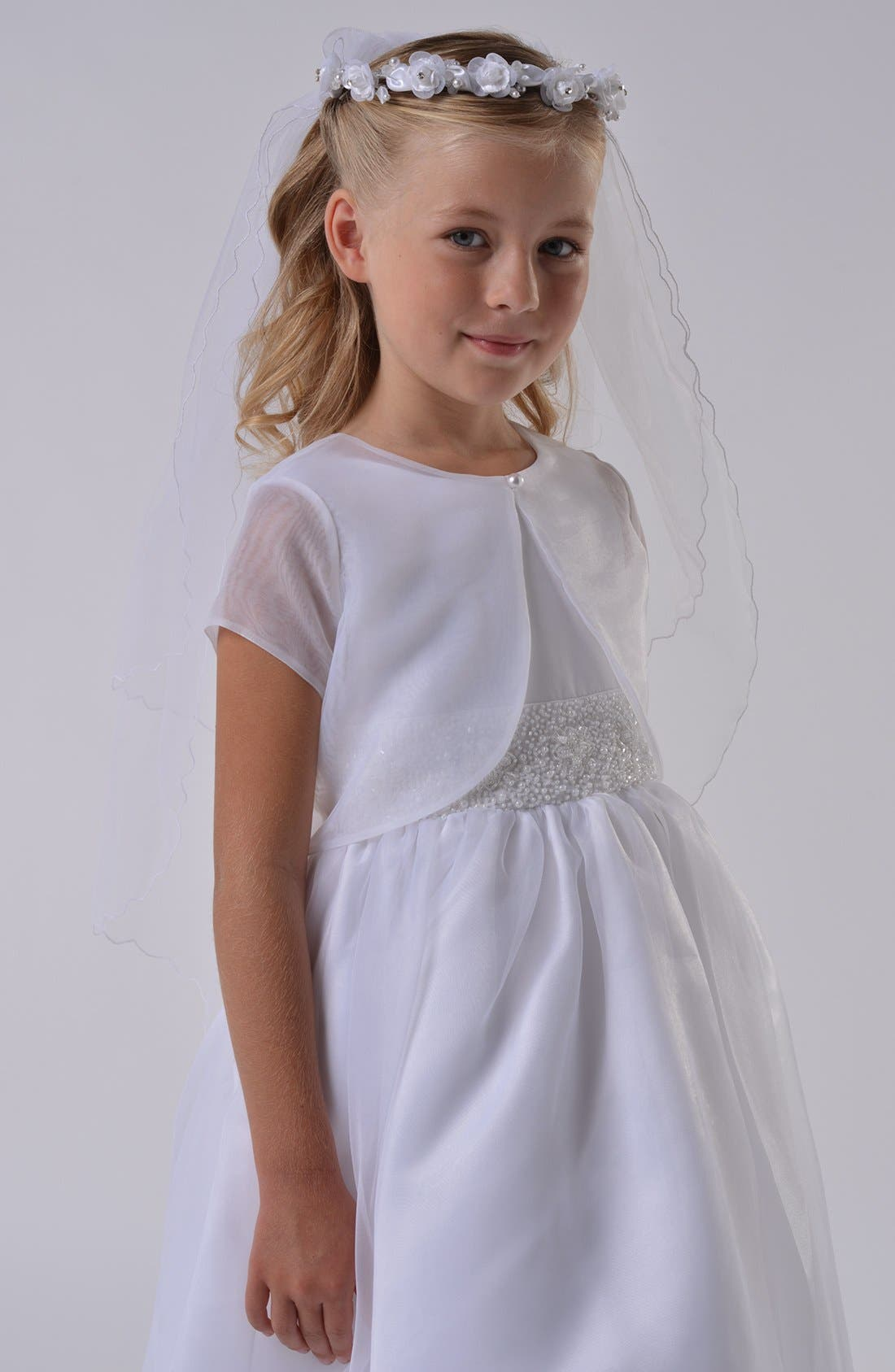 Communion Bolero,                         Main,                         color, White