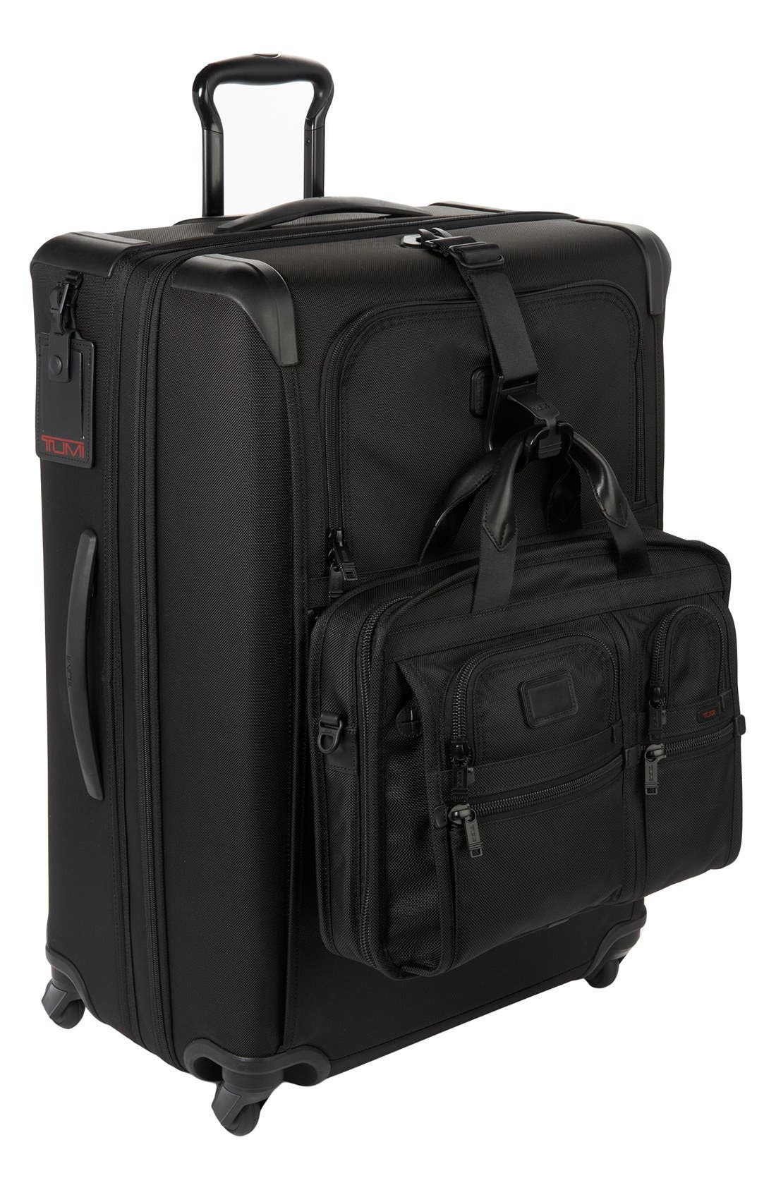 Alpha 2 Medium Trip 29-Inch Expandable Four-Wheel Packing Case,                             Alternate thumbnail 5, color,                             Black