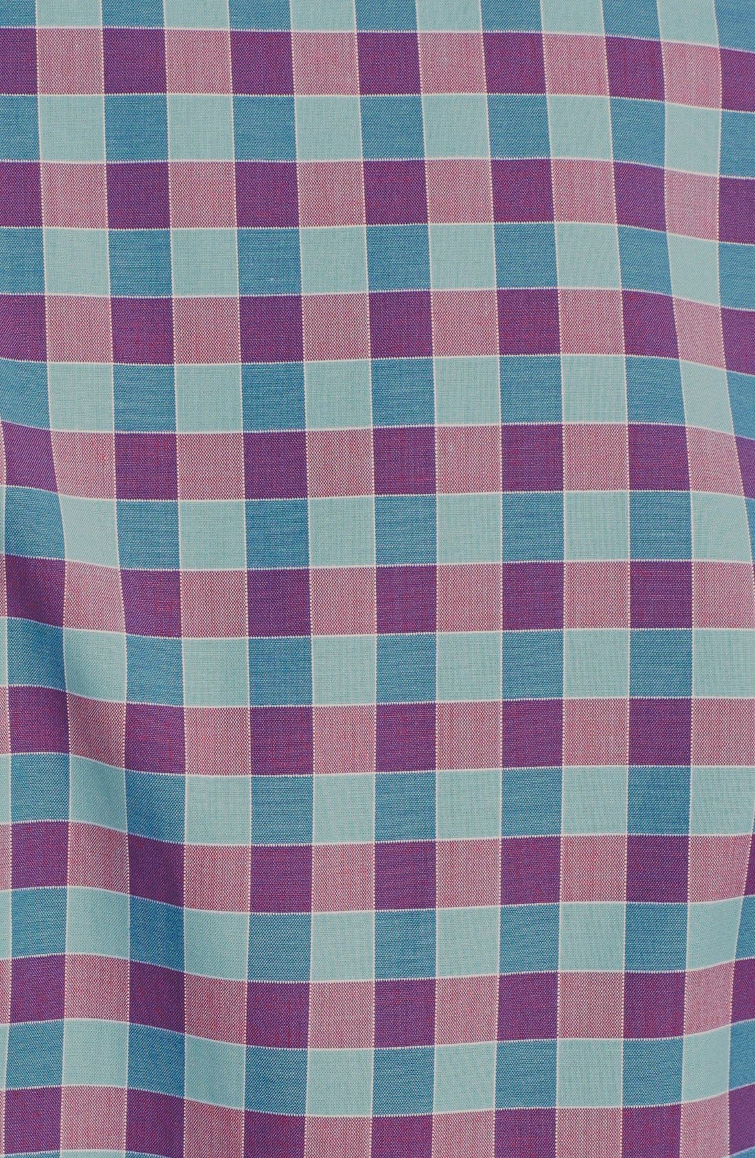 Alternate Image 3  - Paul Smith London Slim Fit Gingham Dress Shirt