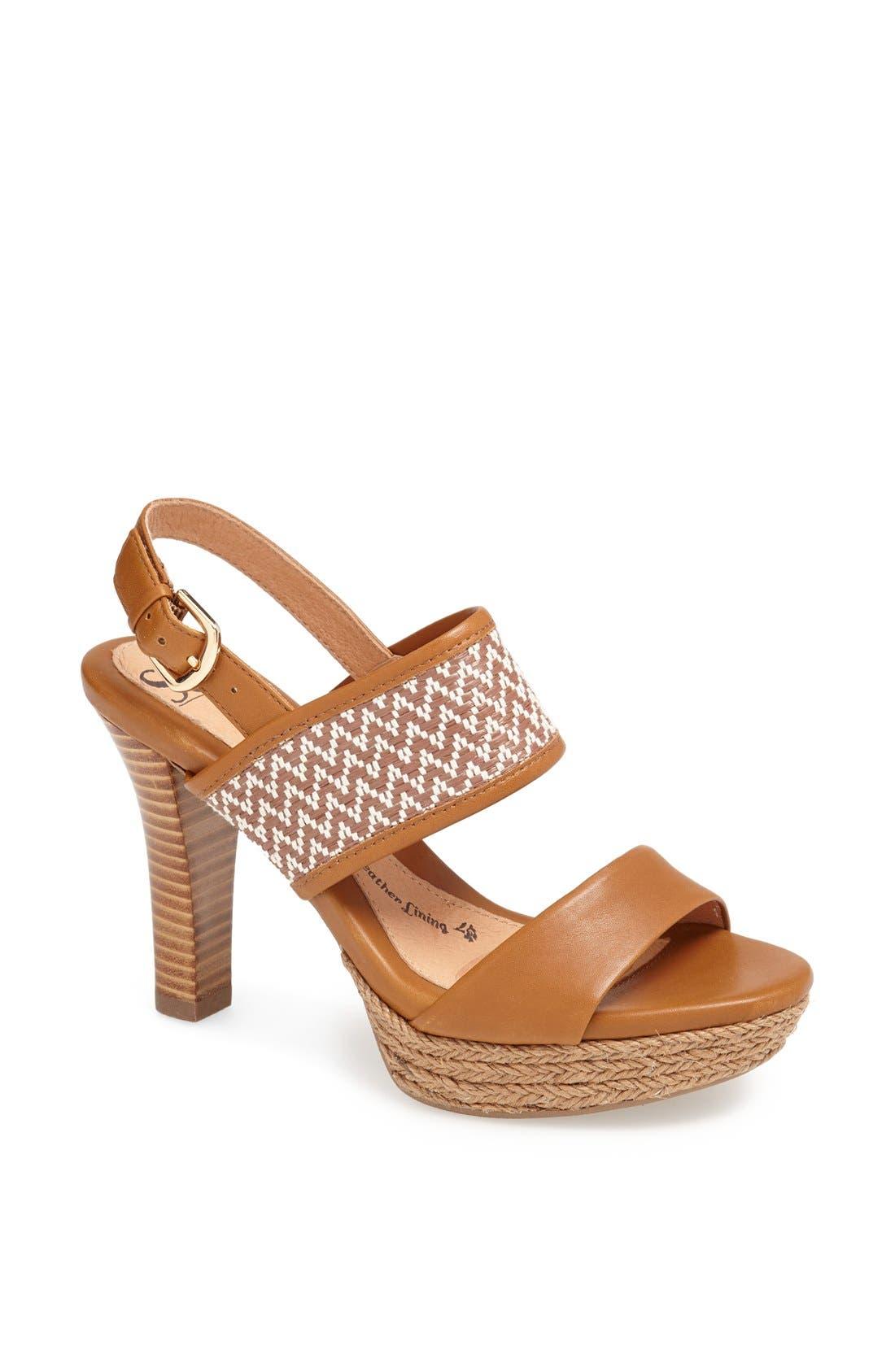 Alternate Image 1 Selected - Söfft 'Sarita' Platform Sandal