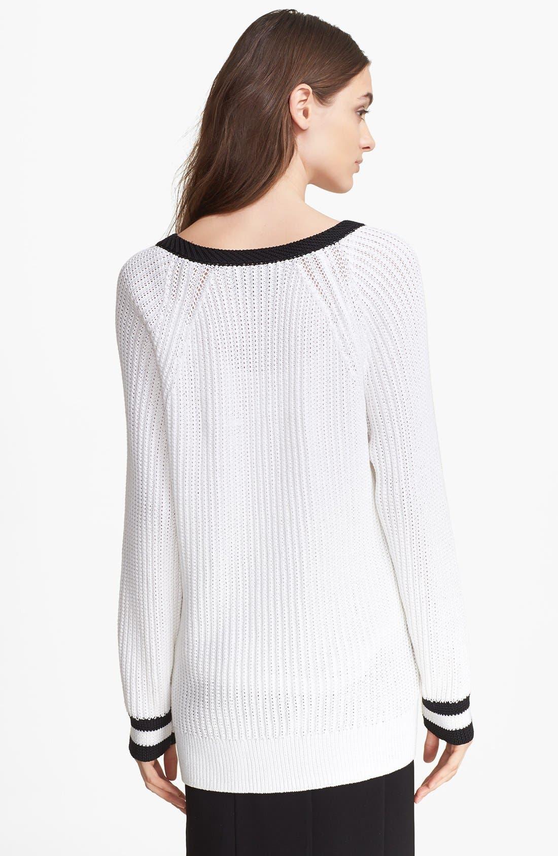 Alternate Image 2  - rag & bone 'Talia' V-Neck Sweater