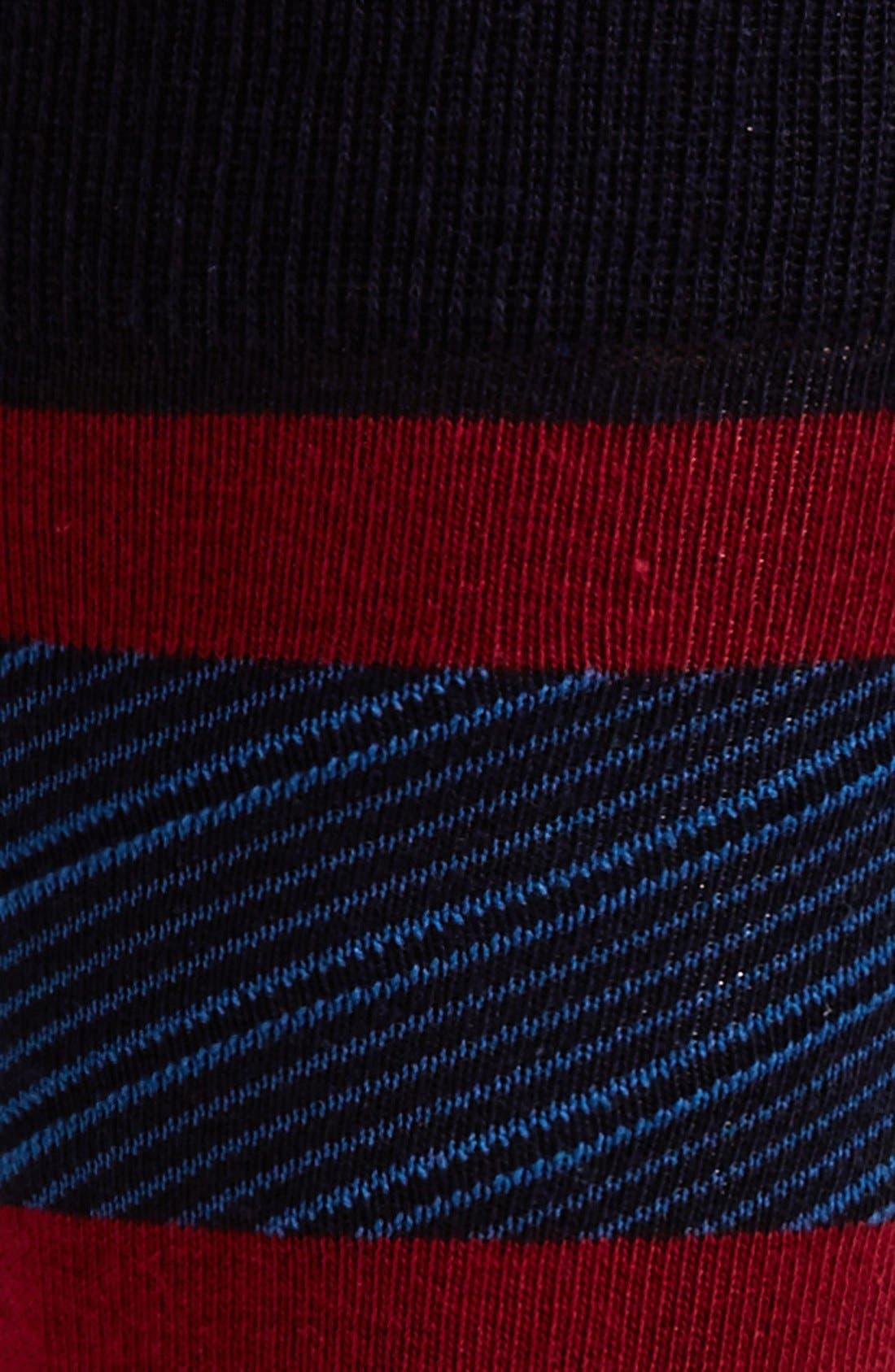 'Wagner' Socks,                             Alternate thumbnail 2, color,                             Dark Red