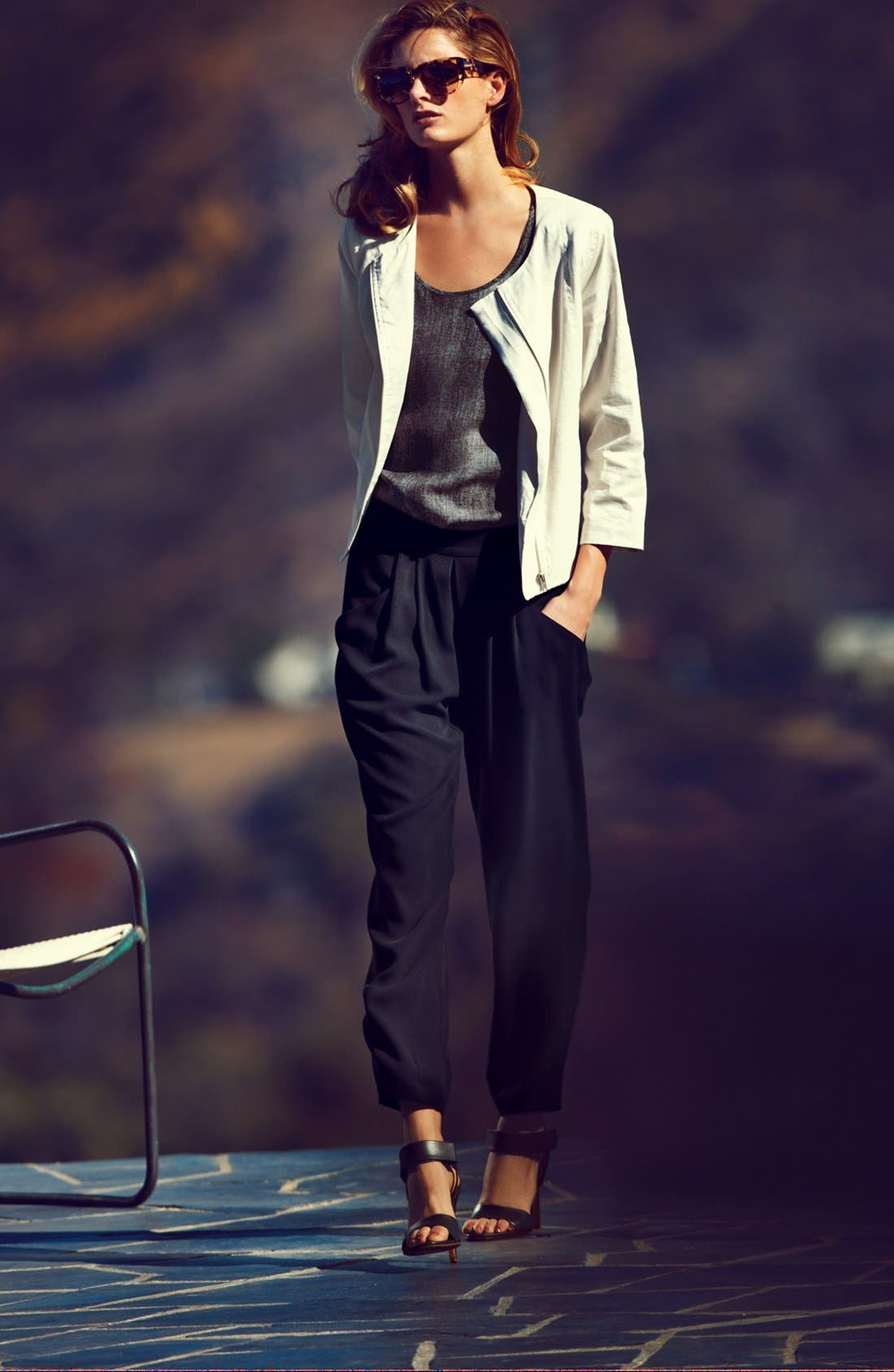 Alternate Image 2  - Eileen Fisher Silk Ankle Pants