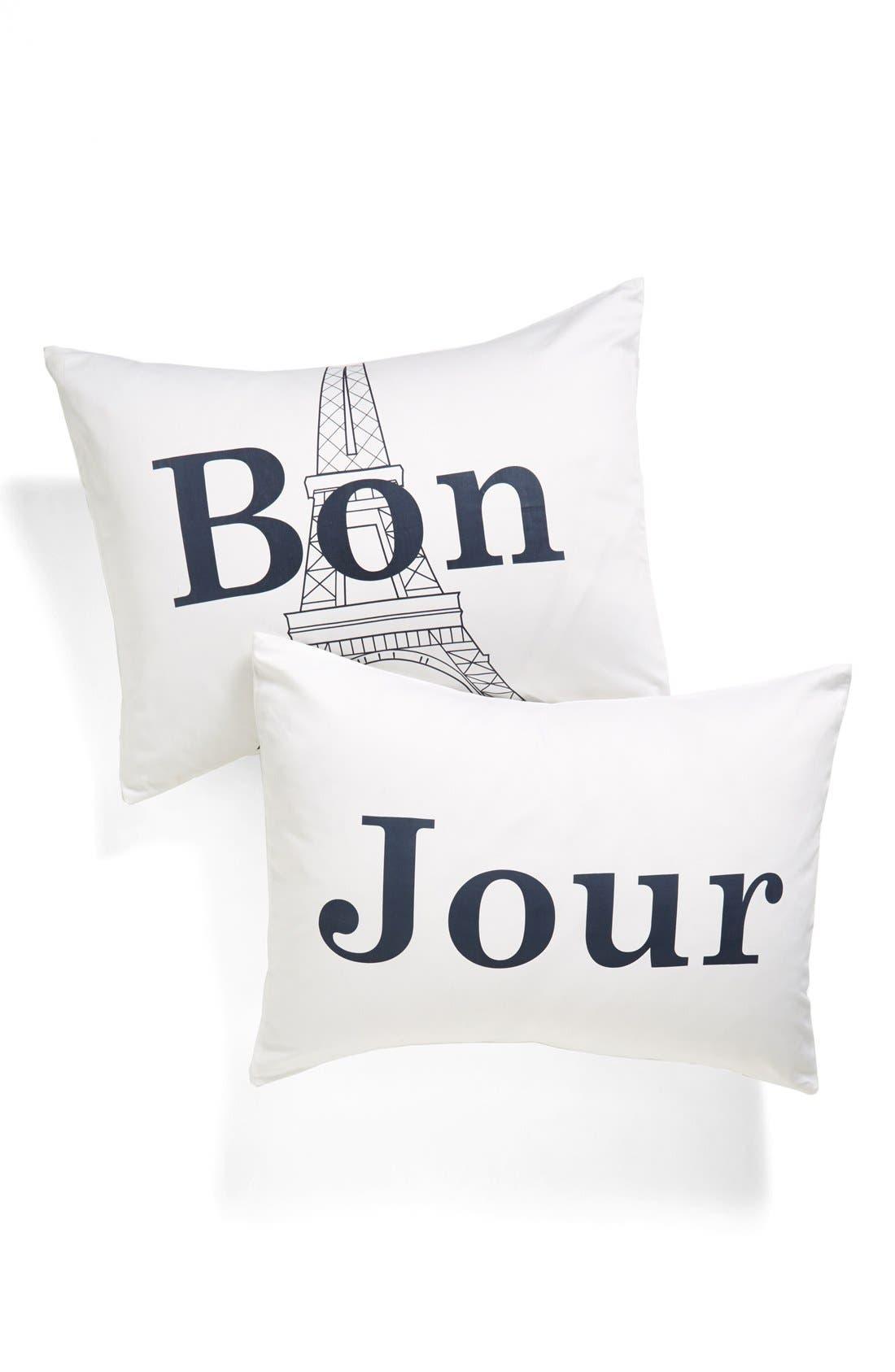 Alternate Image 1 Selected - Levtex 'Bon/Jour' Pillowcase Set