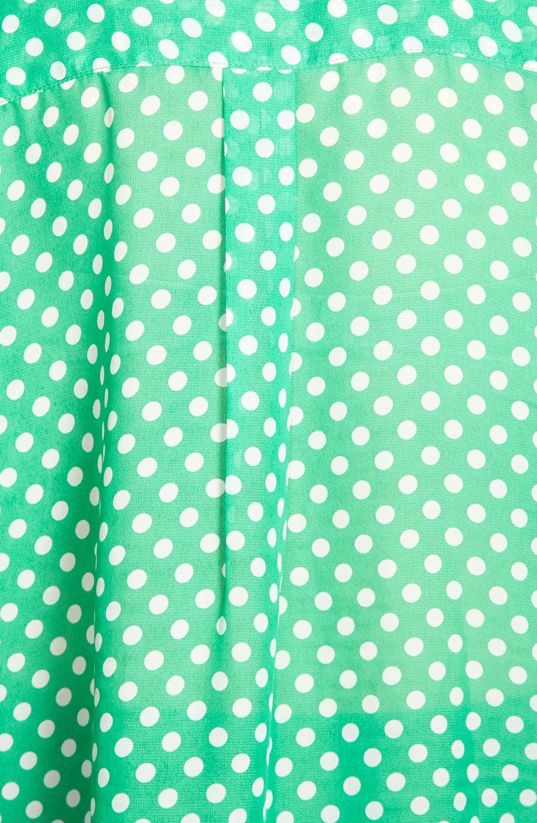 Alternate Image 3  - KUT from the Kloth Polka Dot Roll Sleeve Blouse