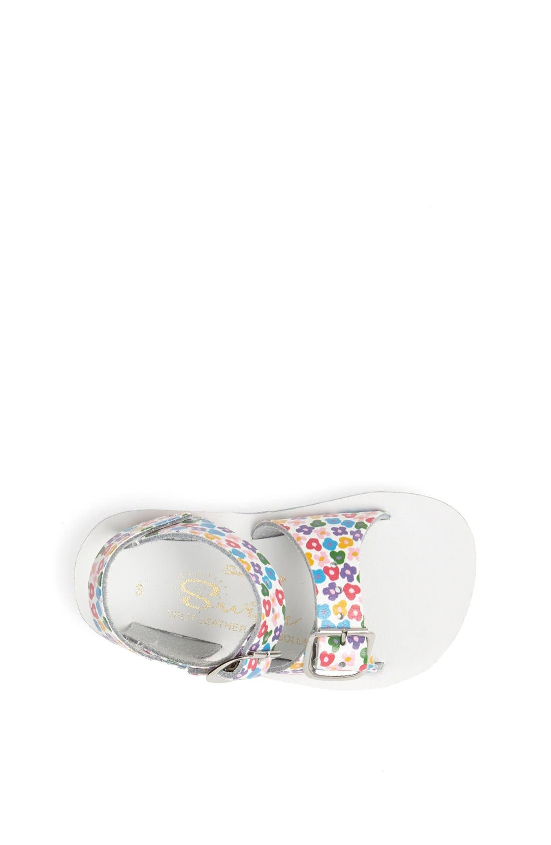 Hoy Shoe Salt-Water<sup>®</sup> Sandals 'Surfer' Sandal,                             Alternate thumbnail 3, color,                             Floral