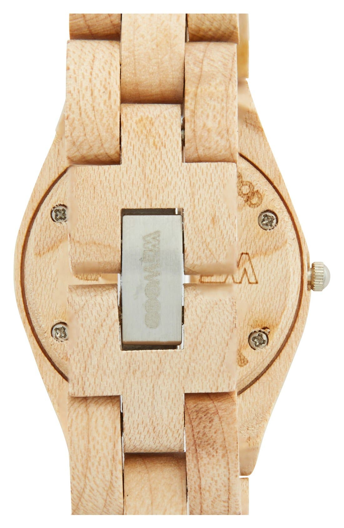 Alternate Image 2  - WeWOOD 'Odyssey' Wood Watch, 44mm