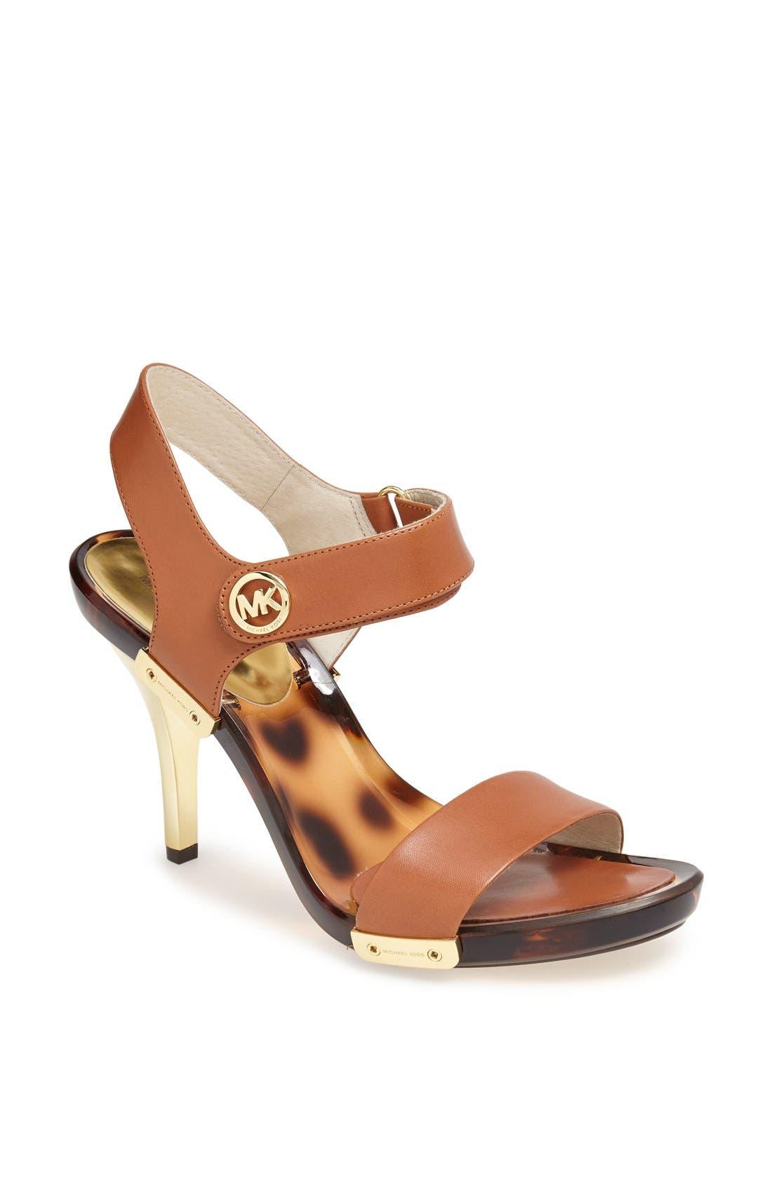 Main Image - MICHAEL Michael Kors 'Lani' Patent Leather Sandal