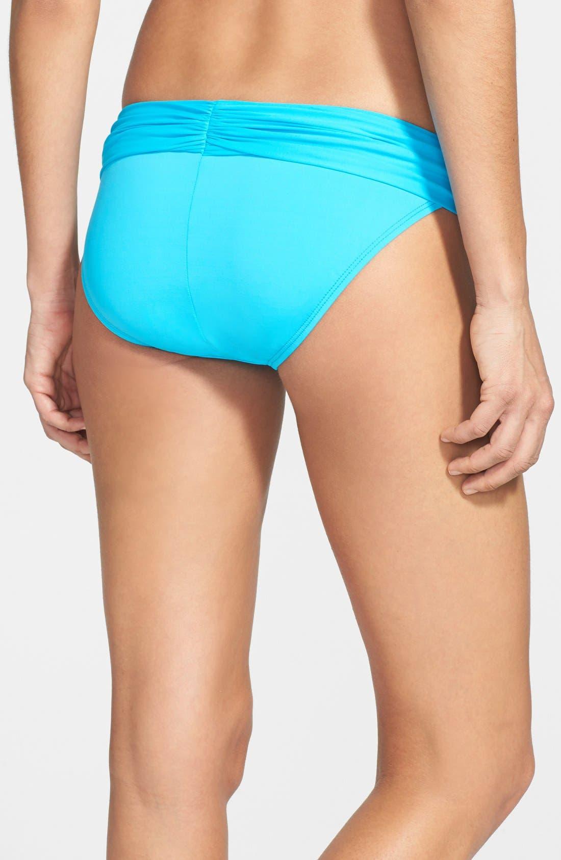 Alternate Image 4  - La Blanca 'Island' Shirred Hipster Bikini Bottoms