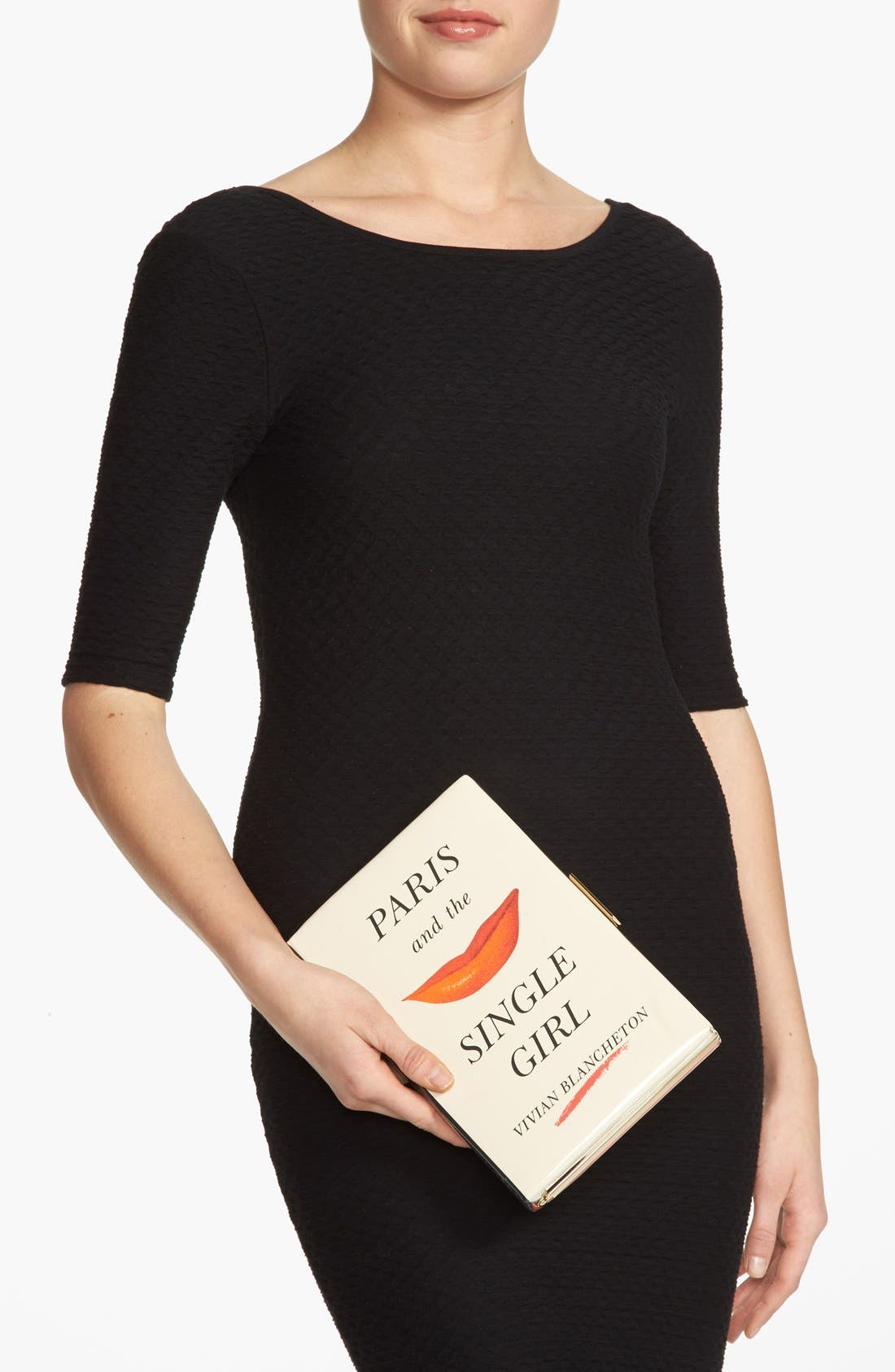 Alternate Image 2  - kate spade new york 'paris and the single girl - book emanuelle' box clutch