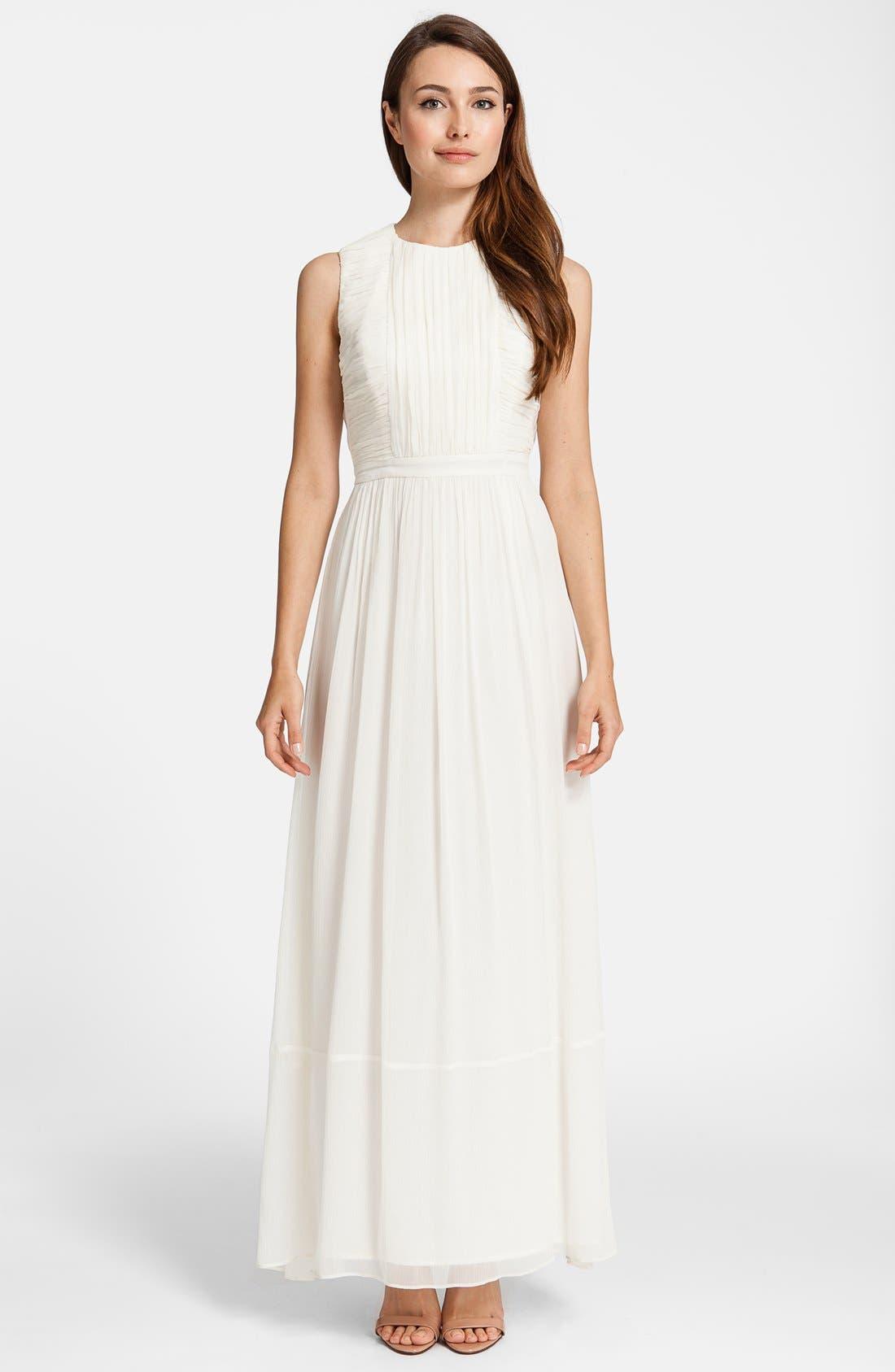 Alternate Image 1 Selected - Cynthia Steffe 'Antonia' Silk Maxi Dress