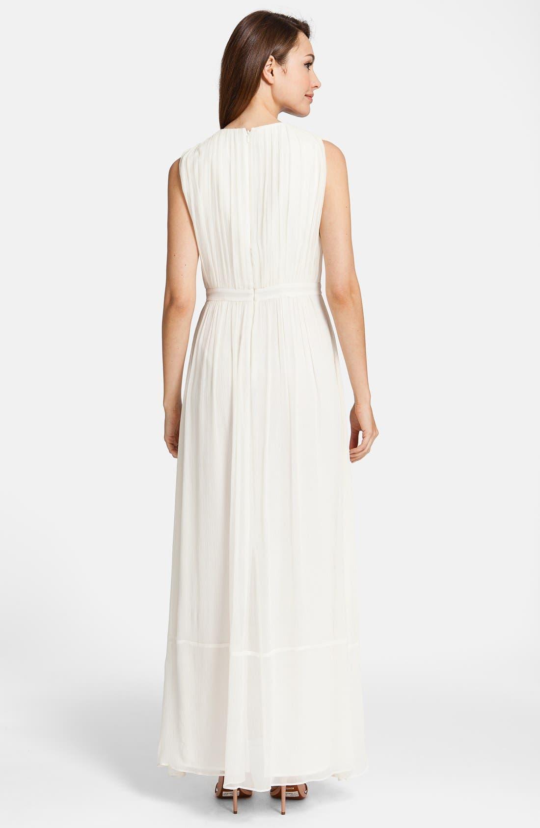 Alternate Image 2  - Cynthia Steffe 'Antonia' Silk Maxi Dress