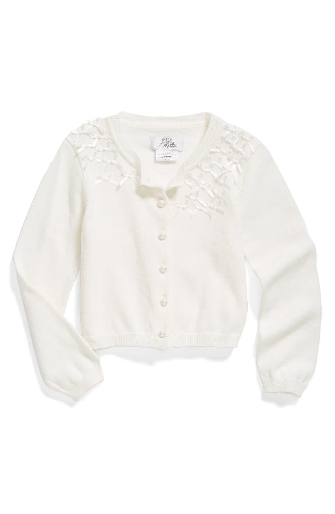 Us Angels Communion Cardigan Sweater (Toddler Girls, Little Girls & Big Girls)