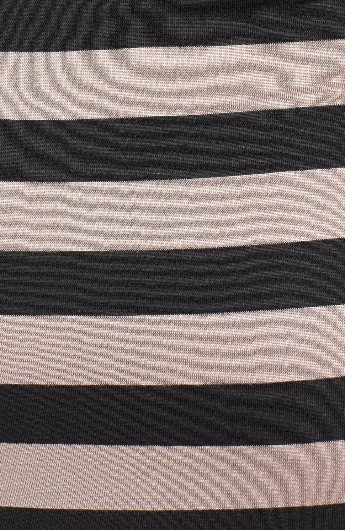 Alternate Image 3  - Loveappella Shirred Bodice Maxi Dress