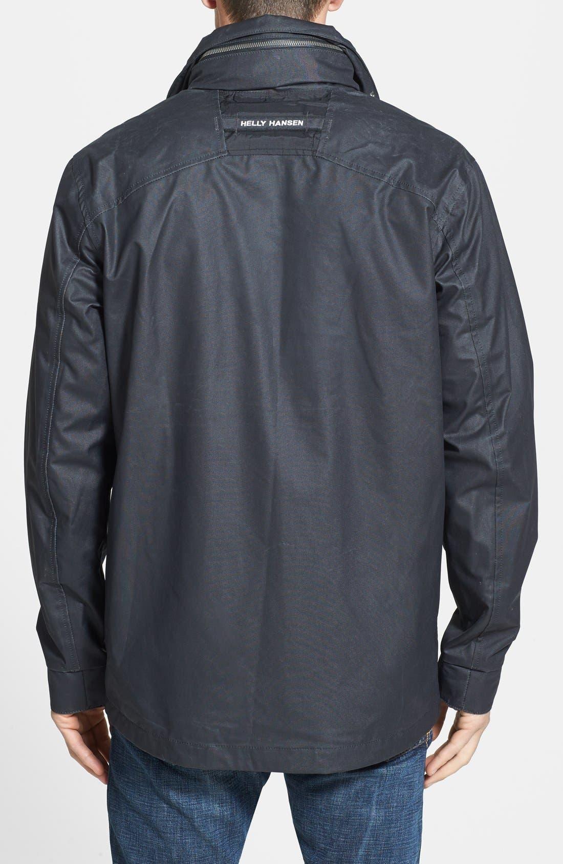 Alternate Image 2  - Helly Hansen 'Robson' Waxed Surface Waterproof & Windproof Jacket