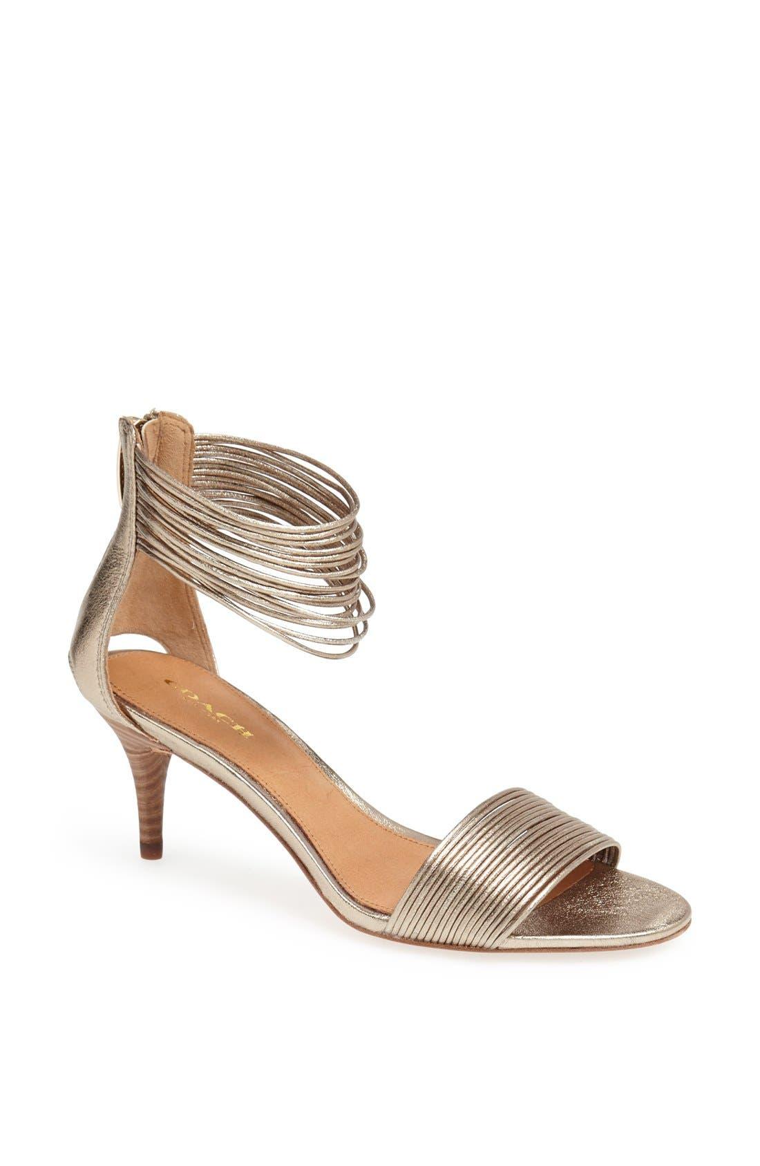 Alternate Image 1 Selected - COACH 'Manya' Sandal
